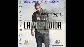 MUY PRONTO!!! Maluma-La Despedida PREVIEW Copilacion