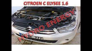 Citroen Elysee 1.6 dizel hidrojen yakıt tasarruf sistem montajı