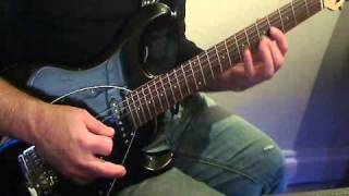 Alex K - Yngwie Malmsteen - Cross the Line improvisation
