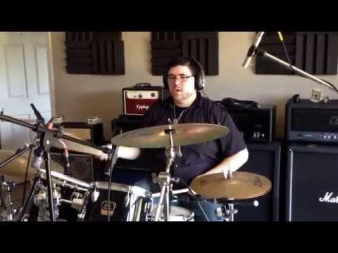 Bryan Playing Drums