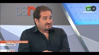 Federico Casado Reina como Psicólogo en Canal Sur Noticias - 31/10/2017 - Federico Casado Reina