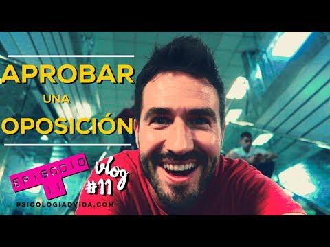 Aprobar Oposiciones Psicología (justicia) - episodio II - vlog #11