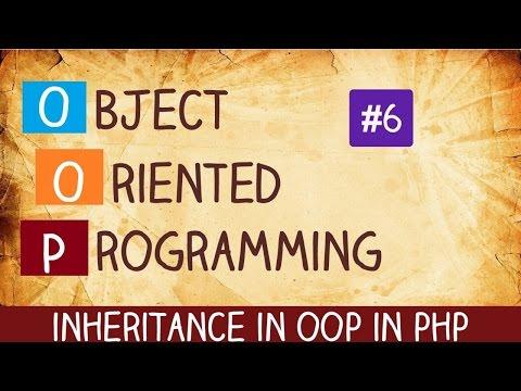 inheritance in oop in php