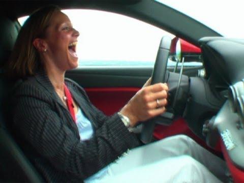 Ferrari F12 Berlinetta Drives Vicki Mad - Fifth Gear