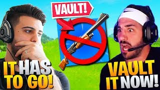 Why It's Time To VAULT the Pump! (It Has To Go!) - Fortnite Battle Royale