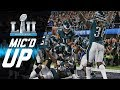 """Eagles vs. Patriots Mic'd Up """"You Want Philly Philly?""""   Super Bowl LII   NFL Sound FX"""