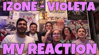 IZ*ONE (아이즈원)   Violeta (비올레타) MV Reaction [HOW CAN THEY BE SO PERFECT?]