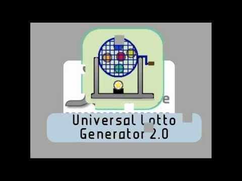 Video of Universal Lotto Generator