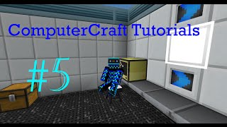 ComputerCraft Tutorials #5: Remote Control Turtle & Basic Redstone