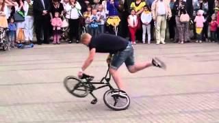 Трюки на bmx от Москвы