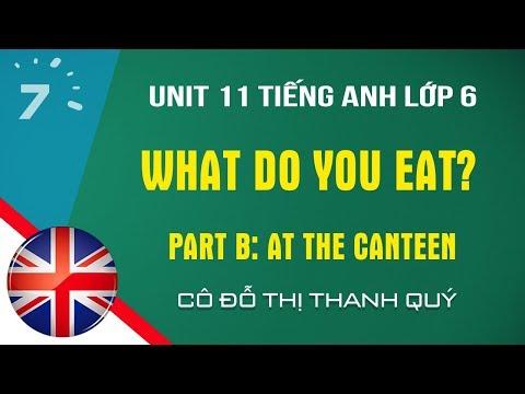 Tiếng Anh lớp 6: Unit 11 - Part B: At the canteen