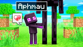 Playing Minecraft as a LOVING Enderman!