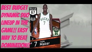 BEST BUDGET DYNAMIC DUO LINEUP IN THE GAME! THON MAKER IS GOAT!