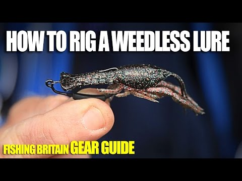 How to rig a weedless lure – Gear Guide