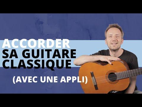 Comment accorder sa Guitare classique avec une application ...