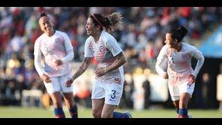 Chile 2 - 1 Sudáfrica   Amistoso 2018   Fútbol Femenino