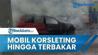 Mobil Alami Korsleting Listrik hingga Terbakar di Depok, Terdapat 4 Orang di Dalamnya