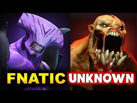 FNATIC vs UNKNOWN - ELIMINATION GAME - MDL Chengdu MAJOR DOTA 2