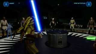 Kinect Star Wars - Jedi Destiny: Dark Side Rising - Jedi Temple Training