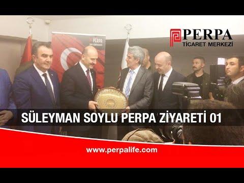 Süleyman Soylu Perpa Ziyareti 01