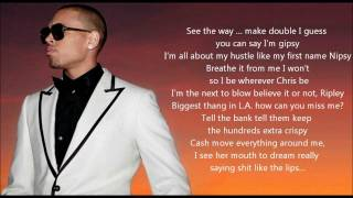 Chris Brown - Real Hip Hop Shit 4 (ft. Kevin McCall) [LYRICS ON SCREEN]