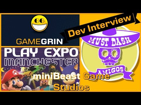 Interview - miniBeast Game Studios - Must Dash Amigos - PLAY Expo Manchester