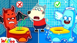 No No, Wolfoo! Keep Your Potty Clean - Kids Stories About Potty Training of Wolfoo | Wolfoo Channel
