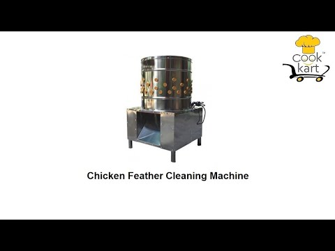 Chicken  Cleaning Machine 8 Birds