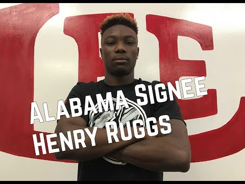 Henry Ruggs plans to work hard to earn playing time at Alabama