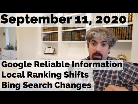 O Google se antecipa às eleições, bugs de classificação local, atualizações de pesquisa do Bing e muito mais 1