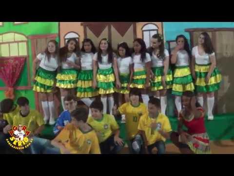 Festa Junina 2018 da Escola Tales de Mileto Apresentação da 7 série