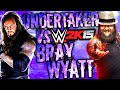 PS4: WWE 2K15 | The Undertaker Vs Bray Wyatt
