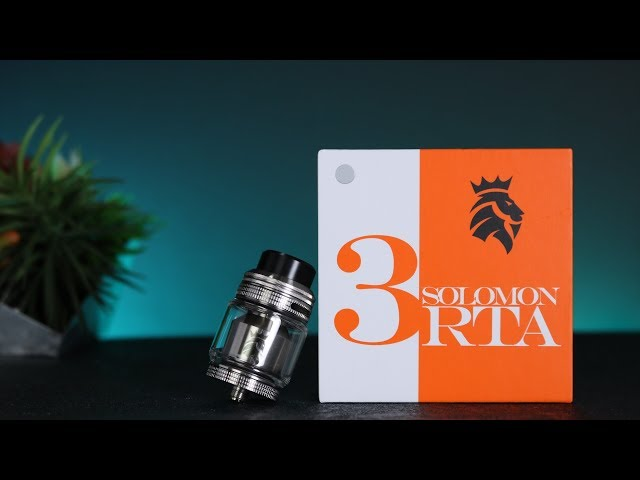 Kaees Solomon 3 RTA | Review | Build & Wick