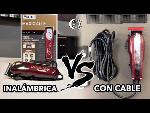 Qué es mejor ¿Maquina inalámbrica o maquina con cable? Cual debo comprar | Wahl Magic Clip Cordless