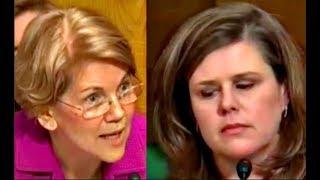 "Elizabeth Warren CRUSHES BIG Pharma Executive Lori Reilly ""you are not FOOLING ME""  10/17/2017"