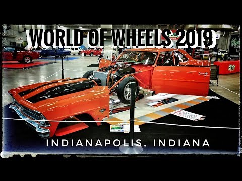 World Of Wheels 2019 - Indianapolis, Indiana