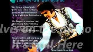 Elvis Presley- It's Still Here- with Lyrics-Beautiful song