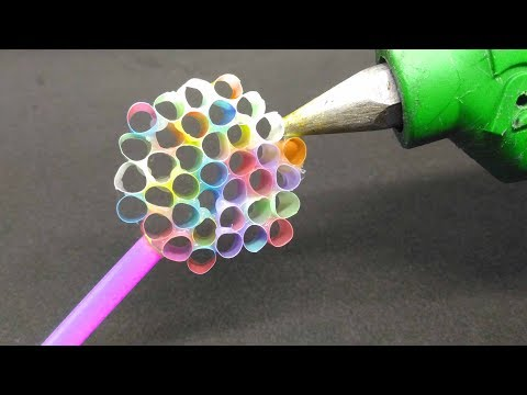13 Cool Things You Can Make With Glue Gun! HOT GLUE GUN Hacks For Crafting! (видео)