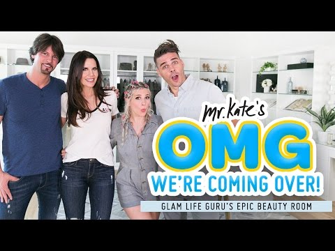 Epic Beauty Room Makeover for Glam Life Guru! | Tati x Mr. Kate | OMG We're Coming Over