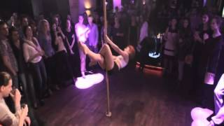 preview picture of video 'Lejdis Studio Pabianice Pole Dance 2'