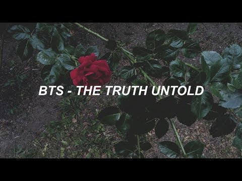 BTS (방탄소년단) 'The Truth Untold' Easy Lyrics