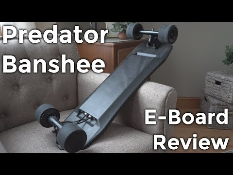 BEST SHORT E-BOARD! Predator Banshee Electric Skateboard Review