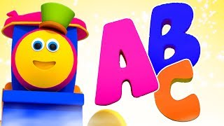 Abc Song | Bob The Train Cartoons | Learning Videos For Kids
