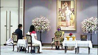 กรมสมเด็จพระเทพ ฯ เสด็จออกวังสระปทุม พระราชทานพระราชวโรกาสให้คณะบุคคลต่างๆ เฝ้าฯ [๘ ก.ย. ๖๔]