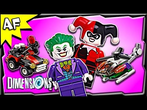 Vidéo LEGO Dimensions 71229 : Pack Equipe : Joker et Harley Quinn