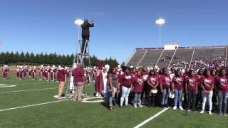 2016 AAMU Band @ Homecoming - Lift Every Voice and Sing (The Black National Anthem)