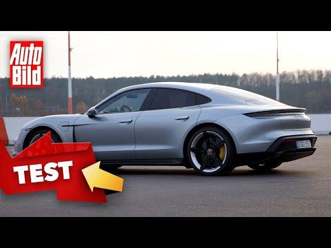 Porsche Taycan Turbo S (2020) | Elektro-Porsche auf der Rennstrecke | Test mit Alexander Bernt