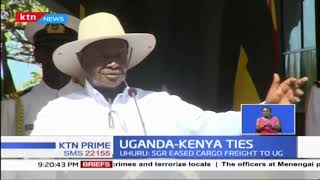 President Yoweri Museveni of Uganda jetted in the country for a two day state visit