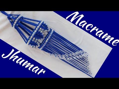 Macrame Jhumar (Design No.2)
