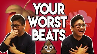 LMAO THESE BEATS ARE TRASH!! REACTING TO MY SUBSCRIBERS WORST BEATS!!